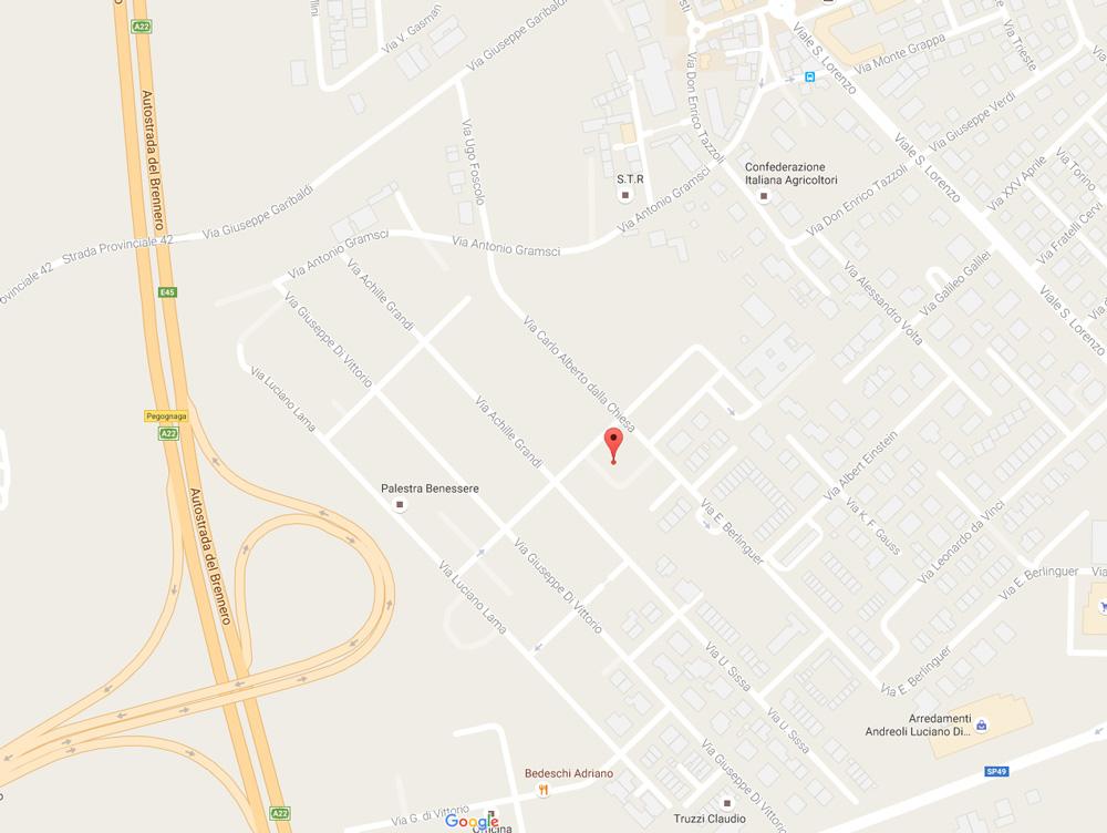 Via Carlo Alberto dalla Chiesa - 46020 Pegognaga (MN)