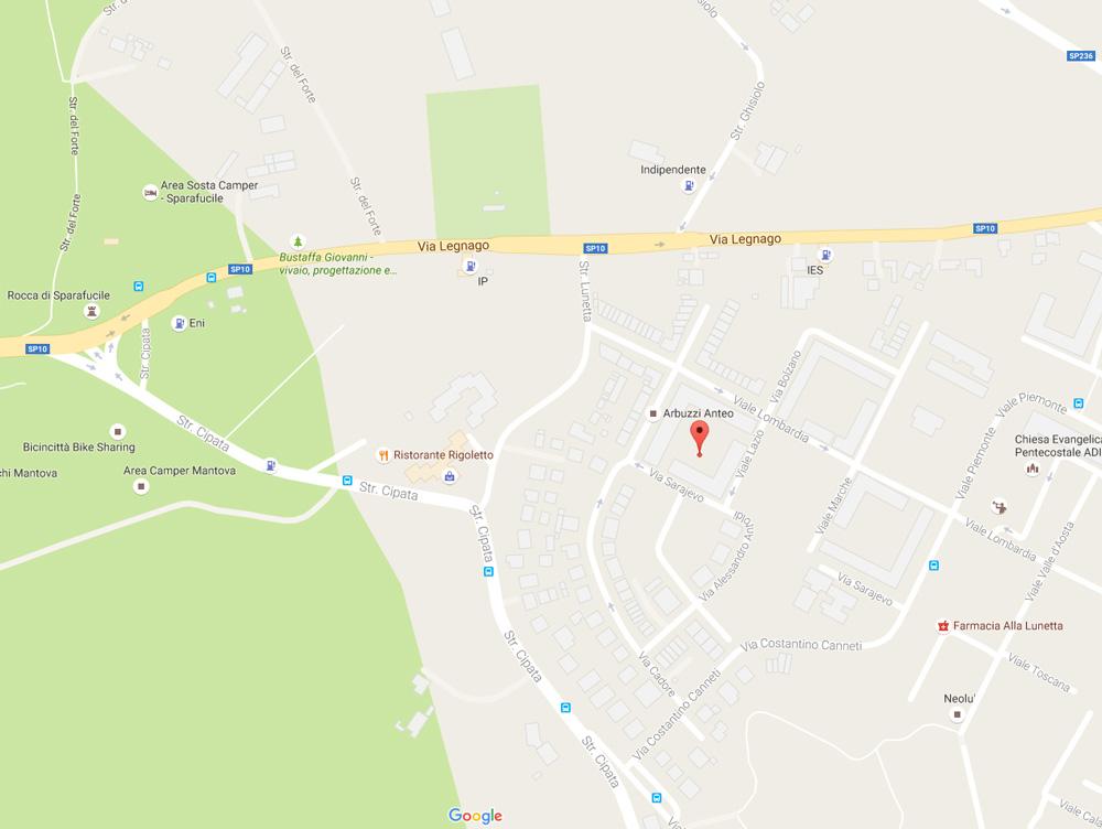 Piazzale Umbria - 46100 Mantova (MN)