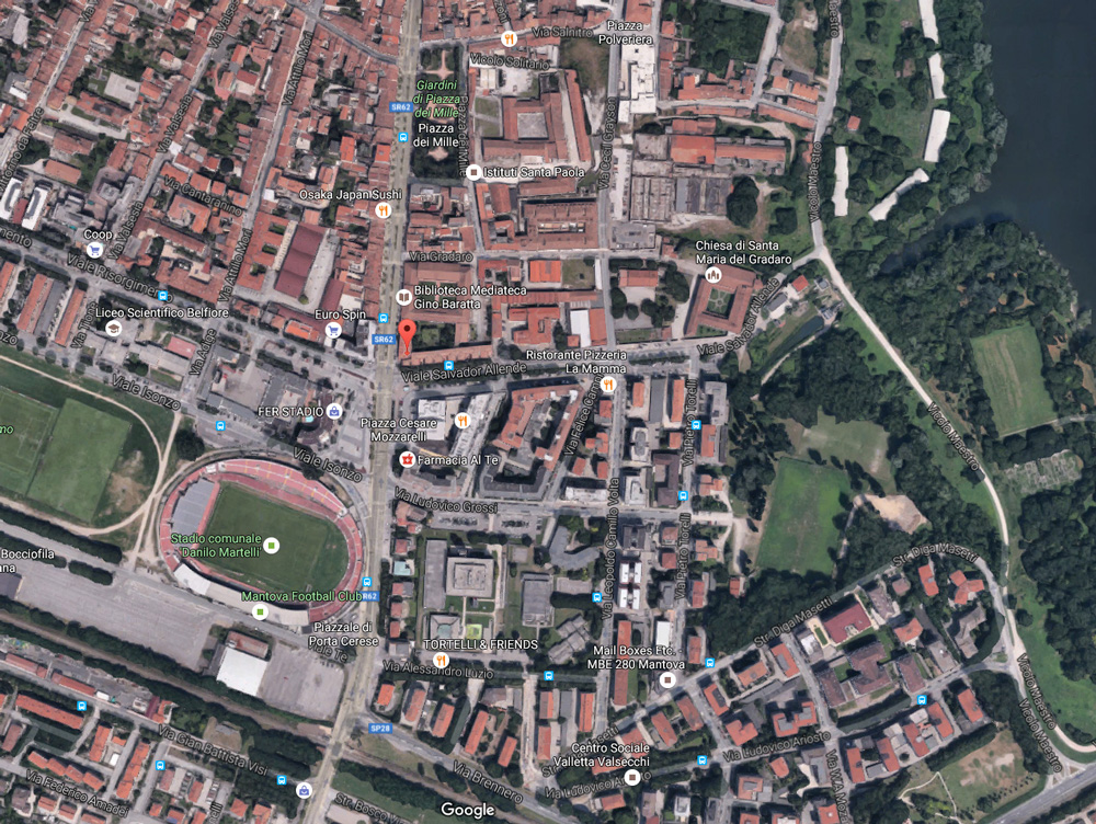 Viale Salvador Allende/Corso Garibaldi - 46100 Mantova (MN)