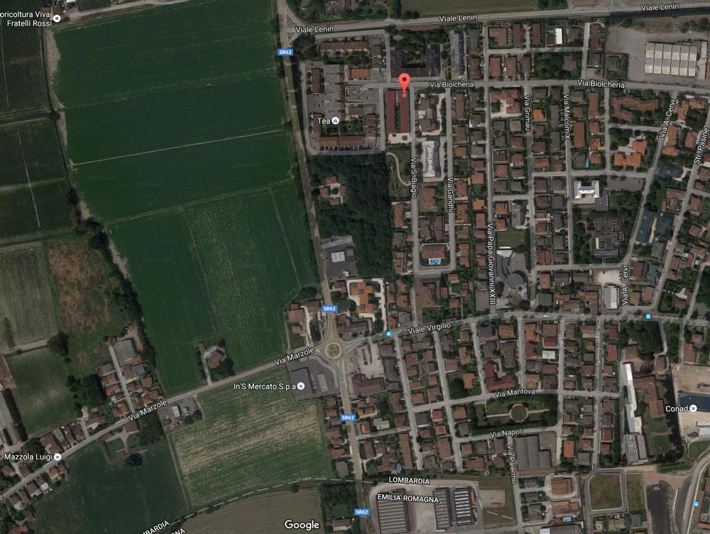 Via San Biagio - 46029 Suzzara (MN)